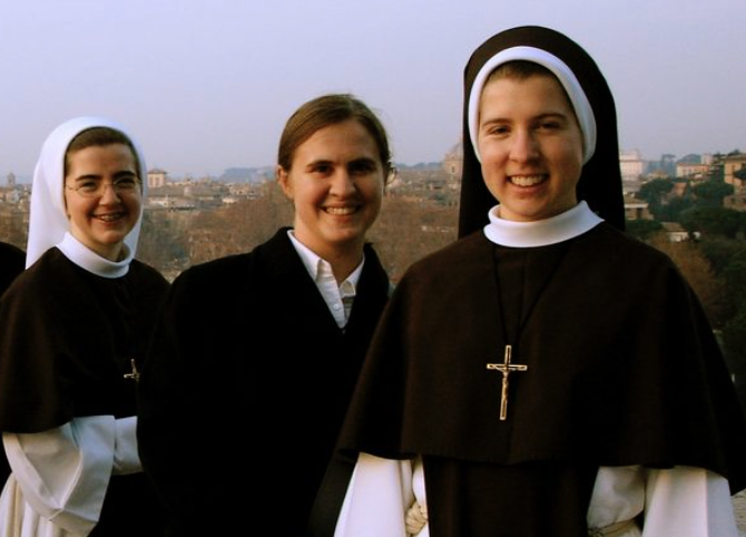 """Fun Nuns"" Remind Client Of Sledding In The '70s"